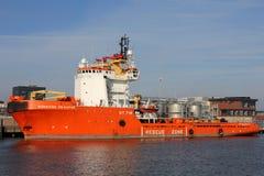 NORMAND DRAUPNE działający Solstad Na morzu Fotografia Stock