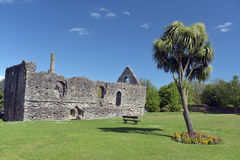 Normandczyka dom w Christchurch Zdjęcia Royalty Free