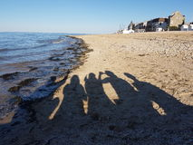 "Normandià ""strand royalty-vrije stock afbeelding"