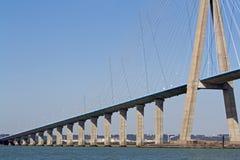 Normandië bridg Royalty-vrije Stock Afbeeldingen