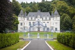 Normandië - Oude villa royalty-vrije stock afbeelding