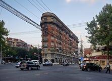 Normandie公寓,上海 库存图片