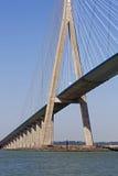 Normandie bridg Lizenzfreie Stockfotos