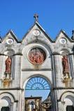 Normandie, de abdij van La Trappe in Soligny-La Trappe Stock Fotografie