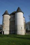 Normandie den pittoreska staden av Vernon Royaltyfri Fotografi