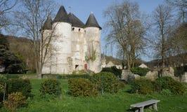 Normandie den pittoreska staden av Vernon Arkivbild