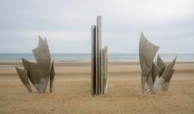 Normandie-Denkmal lizenzfreie stockfotografie