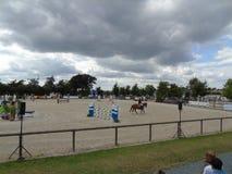 Normandie hästshow Fotografering för Bildbyråer