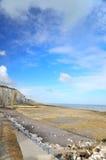 Normandie-Küste lizenzfreie stockfotografie