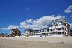 Normandie-Küste lizenzfreies stockbild