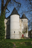 Normandie malowniczy miasto Vernon Zdjęcie Stock