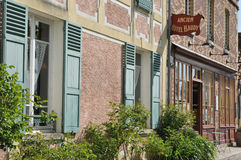 Normandie, the picturesque city of Giverny Stock Photos