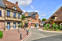 Normandie, the picturesque city of Lyons la Foret Stock Photo