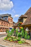 Normandie, the picturesque city of Lyons la Foret Stock Image