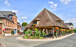 Normandie, the picturesque city of Lyons la Foret Stock Photos