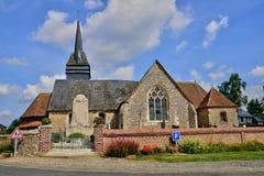 Normandie, the picturesque village of  Beauficel en Lyons Stock Image