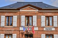 Normandie, the picturesque village of  Beauficel en Lyons Stock Photography