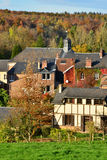 Normandie, the picturesque village of Lyons la Foret Royalty Free Stock Photo