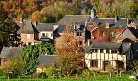 Normandie, the picturesque village of Lyons la Foret Stock Photo