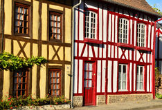 Normandie, the picturesque village of Lyons la Foret Stock Photography