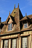 Normandie, the picturesque village of Lyons la Foret Royalty Free Stock Photography