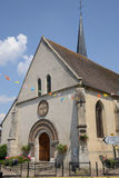 Normandie, the picturesque village of Marcilly sur Eure Royalty Free Stock Photo