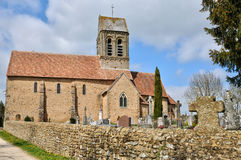Normandie, the picturesque village of Saint Ceneri le Gerei Stock Photography