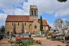 Normandie, the picturesque village of Saint Ceneri le Gerei Stock Image