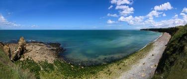 Normandie punkt Du Hoc Royaltyfri Bild