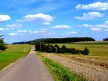 normandie rouen ландшафта Франции дня солнечный Стоковые Фотографии RF