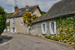 Normandie, the village of Giverny in Eure Stock Photos