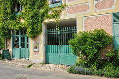 Normandie, the village of Giverny in Eure Royalty Free Stock Photos