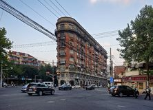Normandie-Wohnungen, Shanghai Stockbild