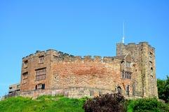 Normandisk slott, Tamworth Royaltyfri Fotografi