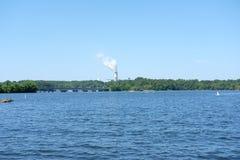 Normando del lago fotos de archivo