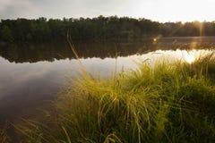 Normando do lago Fotografia de Stock