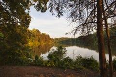 Normando do lago Imagem de Stock