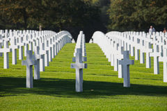 Normandy American Cemetery Royalty Free Stock Photo