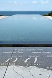 Normandy American Cemetery Royalty Free Stock Images