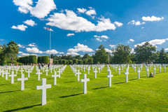 Normandy American Cemetery And Memorial Royalty Free Stock Photography