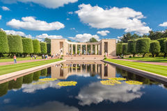 Normandy American Cemetery and Memorial royalty free stock photos