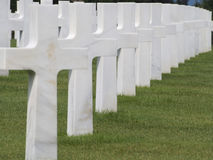 Normandy American Cemetery and Memorial, France Stock Images