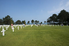 Normandy American Cemetery and Memorial, France Royalty Free Stock Photography
