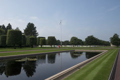 Normandy American Cemetery and Memorial, France Stock Photography