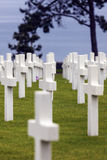 Normandy American Cemetery and Memorial in Saint Laurent sur Mer Royalty Free Stock Photography