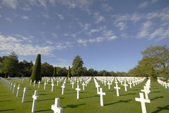 Normandy American Cemetery,  Omaha Beach Stock Photos