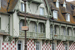 , Normandy Barriere hotel in Deauville Royalty Free Stock Photography