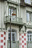Normandy Barriere hotel in Deauville Stock Photos