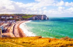 Normandy beach Royalty Free Stock Photography