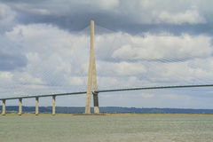 Normandy bridge Royalty Free Stock Photos